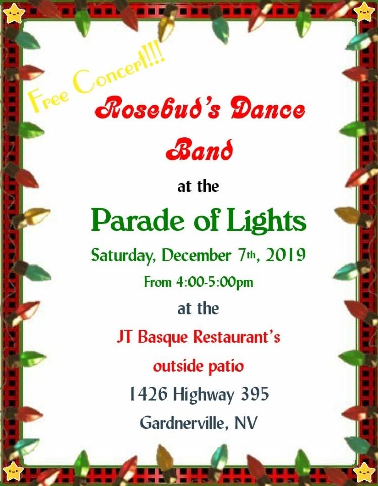 Parade of Lights 2019 Rosebud